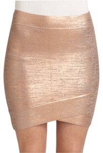 BCBGMAXAZRIA Mini Skirt Pink