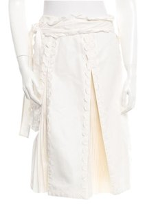 Saint Laurent Ysl Prada Chanel Dress Chanel Valentino Skirt white