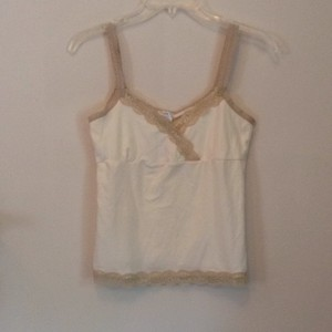 Old Navy Top Cream & tan
