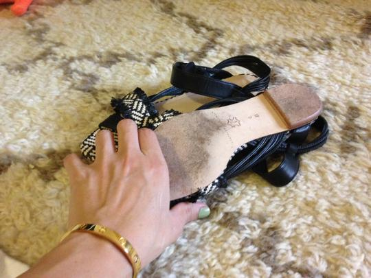 Loeffler Randall Designer Fashion Blogger Runway Loeffler Black Sandals