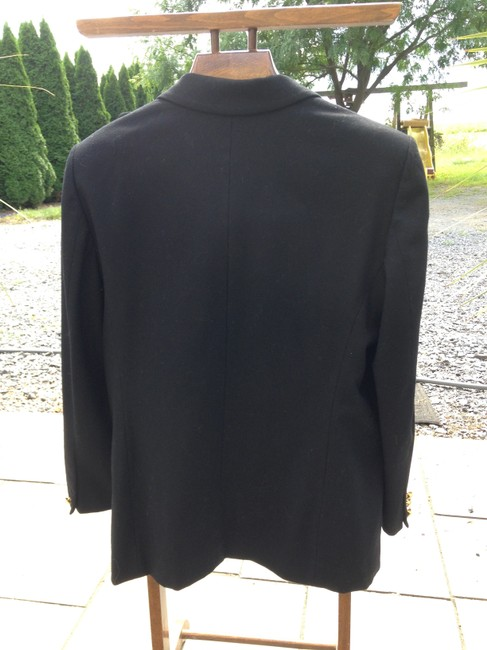 Pendleton 100% Wool Black Blazer