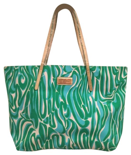 Item - Finders Keepers Resort Multicolor Canvas Tote