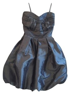 Romeo & Juliet Couture Rj Taffeta Satin Strapless Bubble Bubble Night-out Night Out Evening Party Prom Homecoming Junior Women Night Dress