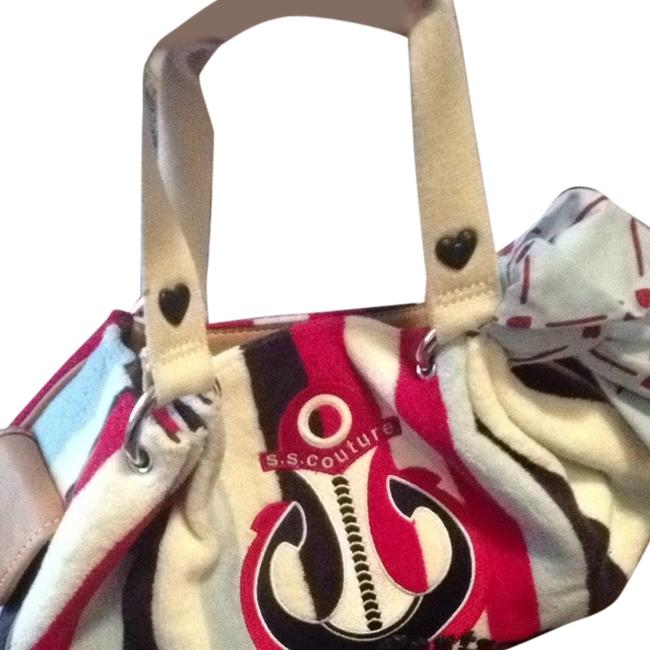 Item - Red White and Navy Blue Tote