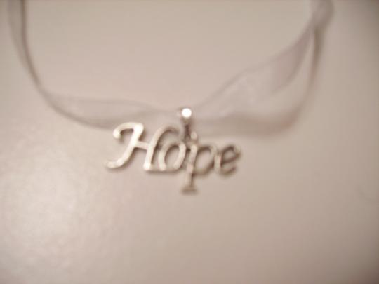 Other Hope Ribbon Necklace