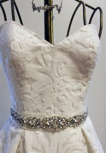 Rhinestone Bridal Belt Sash Couture