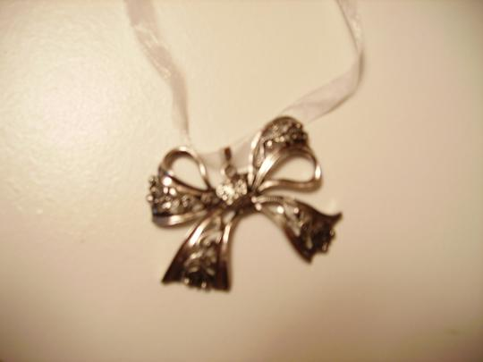 Other Whimsical Bow Ribbon Necklace