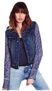 Free People Blue Jacket