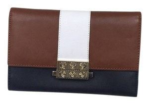 Christian Louboutin NEW - Christian Louboutin Tri Color Studded Leather Wallet