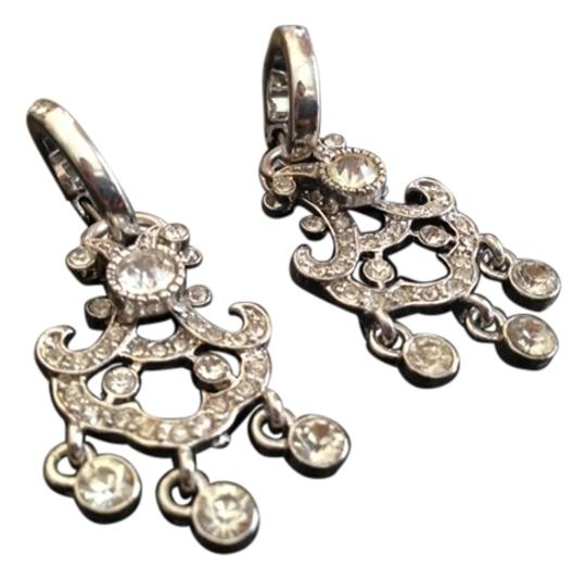 Other Vintage Style Silver Chandelier Earrings