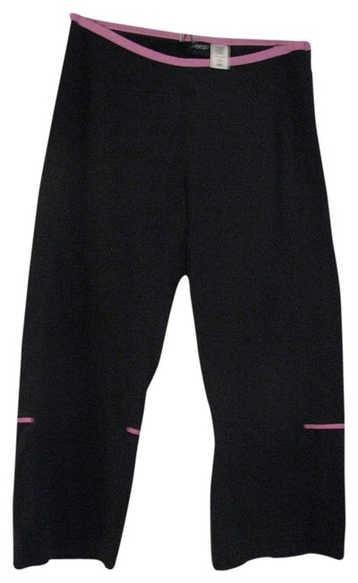 Item - Black with Pink Trim Activewear Bottoms Size 8 (M, 29, 30)