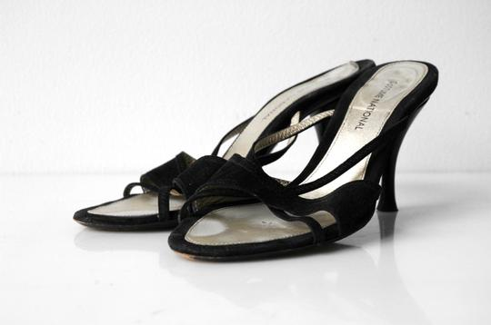 CoSTUME NATIONAL black Sandals