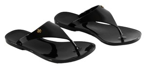 Tory Burch Speer Flat Thong Black Sandals