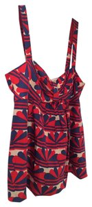 Marc by Marc Jacobs Top Multi-Color, Blue, Red, Cream