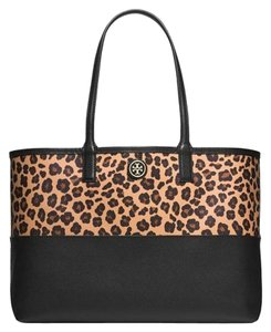 Tory Burch Tote in Leopard Print
