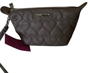 Betsey Johnson Wristlet in Tan