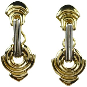 Chimento Chimento Two Tone Gold Designer Earrings