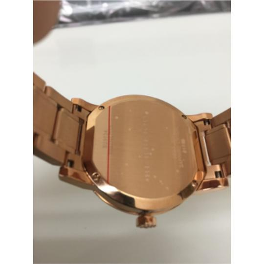 Burberry $700 NWT Burberry The City Rose Gold Ion-PlatedWatch BU9034