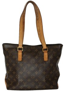 Louis Vuitton Cabas Piano Leather Neverfull Lcr Lady The Lady Tote in Monogram