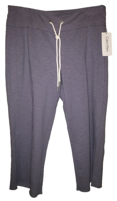 Calvin Klein Athletic Pants Lavender Gray