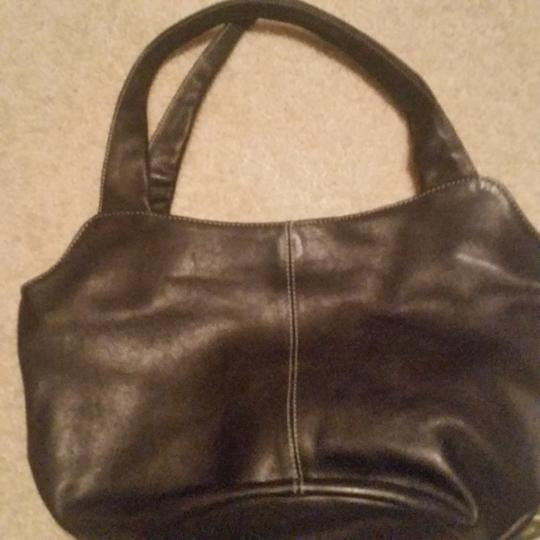 USA Leather Satchel in brown
