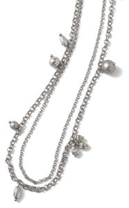 Lia Sophia Lia Sophia Silver Tone Long Necklace