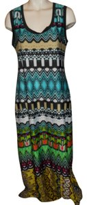 multi color print Maxi Dress by Sunny Leigh