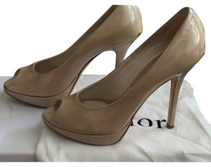 Dior Miss Escarpin12 Beige Platforms