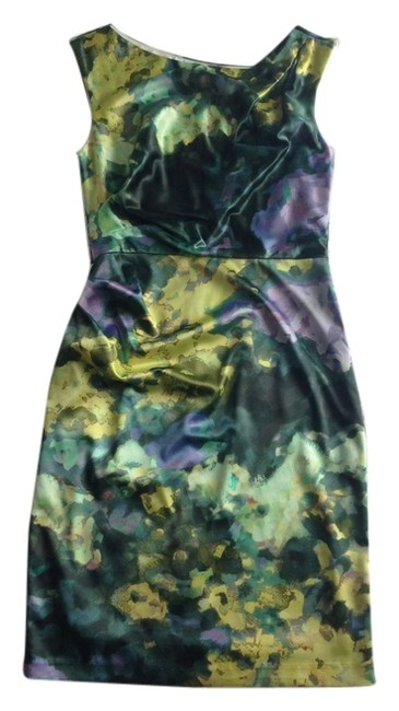 Preload https://item4.tradesy.com/images/suzi-chin-dress-multi-colored-greens-yellows-and-lavenders-5530798-0-0.jpg?width=400&height=650