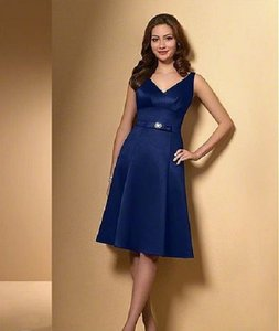 Alfred Angelo Navy Blue Style 7008 Dress