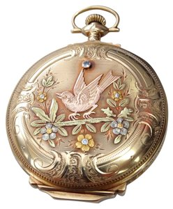 Elgin Hunter ELGIN Hunter Case Multi Gold Pocket Watch