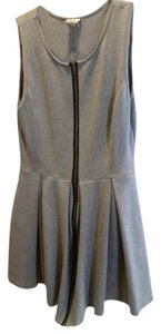 Club Monaco short dress gray Fall 2015 Sale on Tradesy
