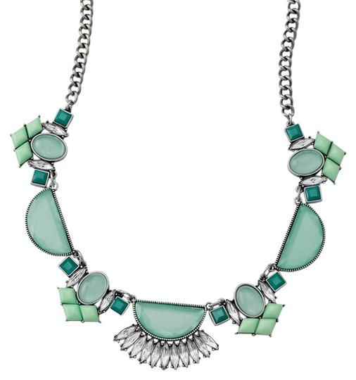 Preload https://item5.tradesy.com/images/lia-sophia-turquoise-silver-statement-bling-blue-mint-and-with-gemstones-necklace-5531209-0-0.jpg?width=440&height=440