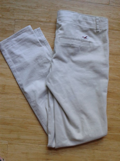 Hollister Low Rise Skinny Pants Khaki