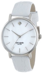 Kate Spade BRAND NEW KATE SPADE (1YRU0155) WHITE REPTILE LEATHER STRAP WATCH