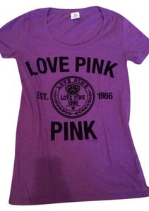 PINK T Shirt Purple