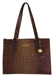Brahmin Pecan Asher Tote Purse Shoulder Bag