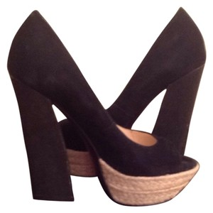 Boutique 9 Black Platforms
