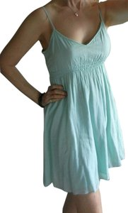 LF short dress seafoam green Spaghetti Straps 100% Cotton Gauze Light Weight Adjustable Straps on Tradesy
