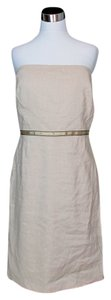 Lela Rose short dress Beige on Tradesy