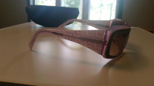 Versace Versace Sunglasses in Pink with Crystals on Frame