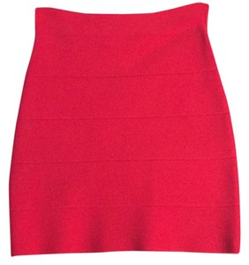 BCBGMAXAZRIA Skirt Red (bright)