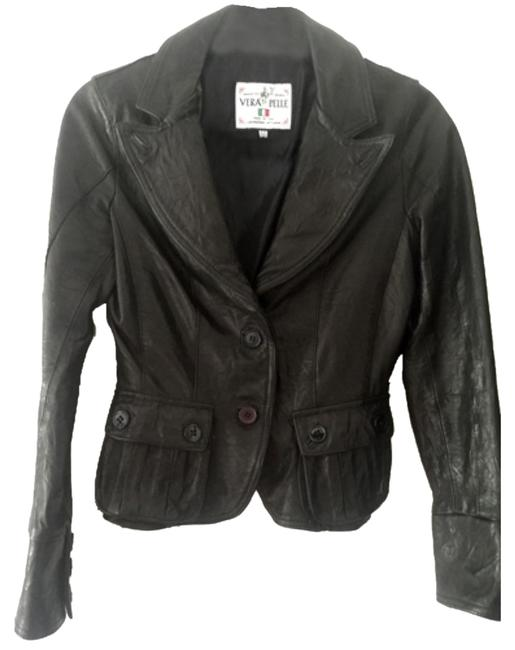 Preload https://item5.tradesy.com/images/vera-pelle-black-leather-jacket-size-2-xs-5533684-0-0.jpg?width=400&height=650