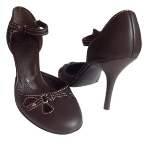 Bally Rare Stylish Nwt Brown Pumps