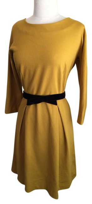 Preload https://item5.tradesy.com/images/anthropologie-gold-yellow-brown-above-knee-workoffice-dress-size-8-m-5534089-0-0.jpg?width=400&height=650