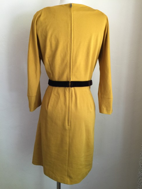 Anthropologie Cotton Stretch Zipper Dress