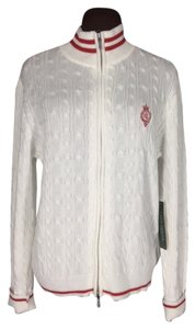 Lauren Ralph Lauren Cable Knit With Crest Sweater