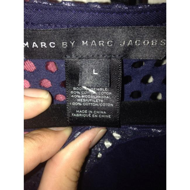 Marc by Marc Jacobs short dress Dark blue on Tradesy