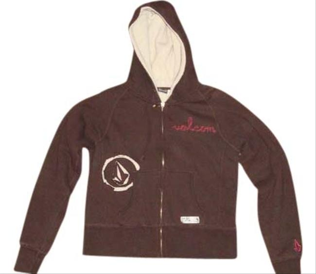 Preload https://item1.tradesy.com/images/volcom-brown-and-tan-sweatshirthoodie-size-12-l-553440-0-0.jpg?width=400&height=650