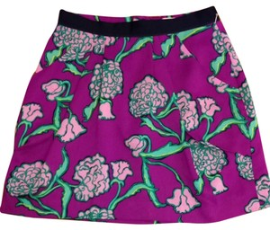 Lilly Pulitzer Skirt Pocket Full Of Posies